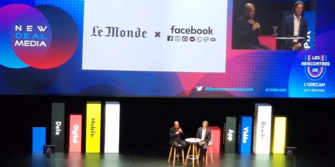Le Monde et Facebook intensifient leur partenariat