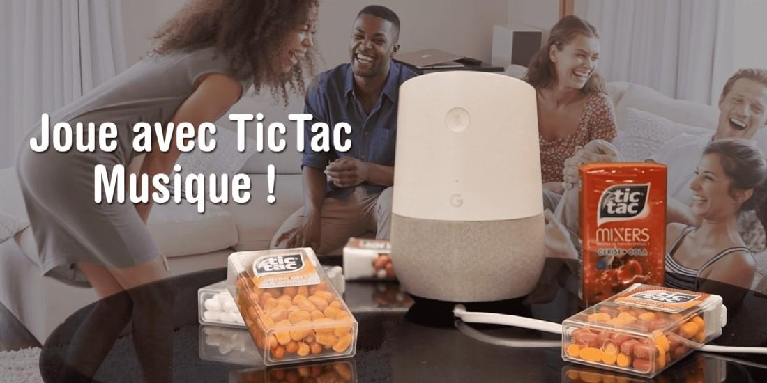Tic Tac touche 230 000 utilisateurs de Google Assistant via un quizz musical