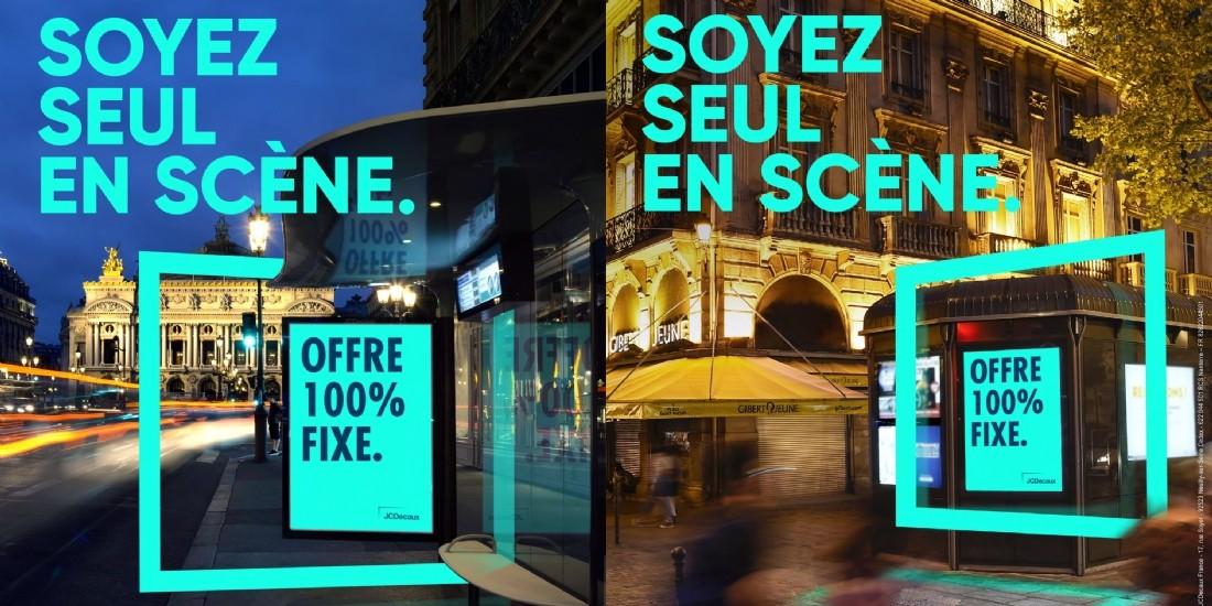 Avec 'Soyez seul en scène', JCDecaux promeut son offre de pub fixe à Paris