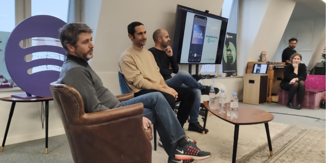 Spotify s'offre le premier podcast de Brut. en exclusivité
