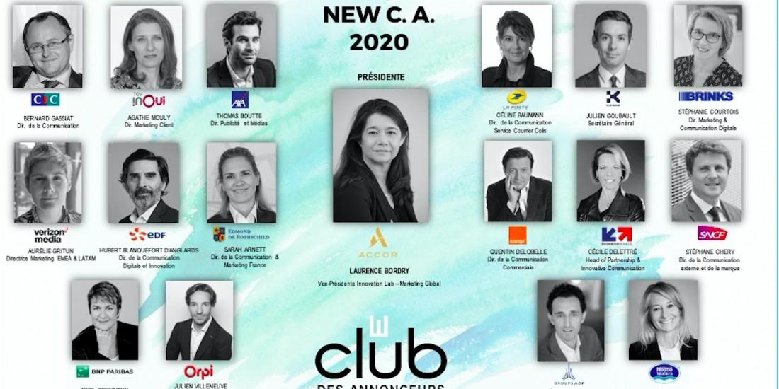 Le Club des Annonceurs dévoile son administration pour 2021