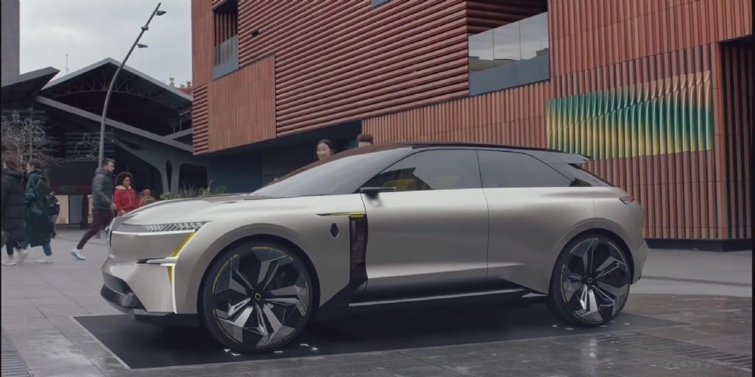 Renault lance son nouveau concept car 'Morphoz'
