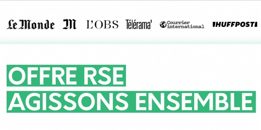 M Publicité abonde les campagnes RSE à hauteur de 50% supplémentaires