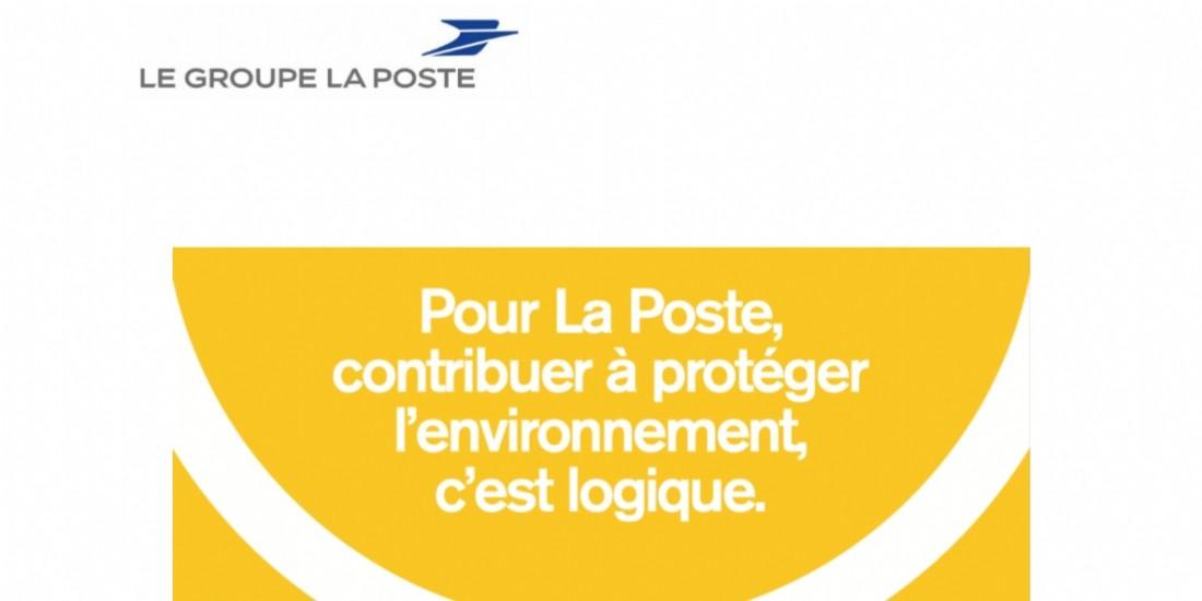 La Poste promeut ses engagements environnementaux avec le marqueur EcolOgic