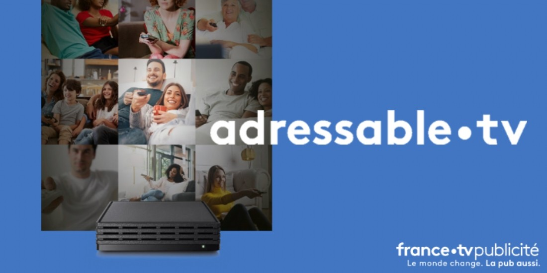 France TV Publicité avance sur la TV segmentée avec adressable.tv