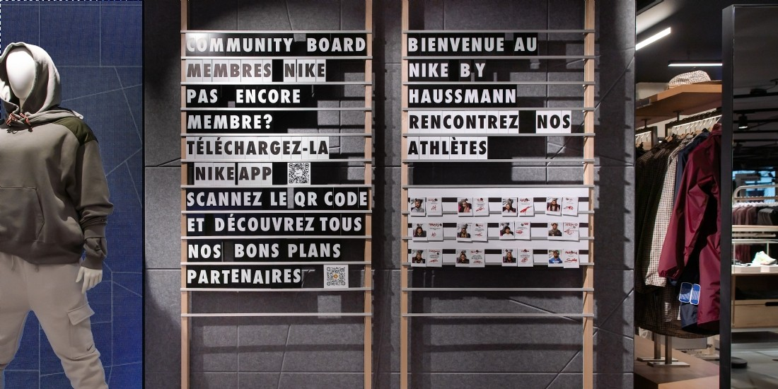 Dans les coulisses du nouveau concept store Nike à Paris