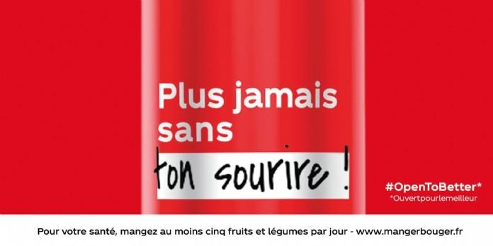 Coca Cola met vos bonnes résolutions en bouteille