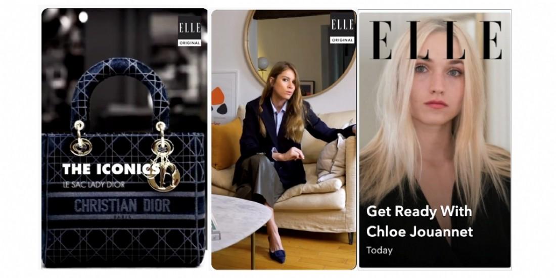Le magazine ELLE arrive sur Snapchat