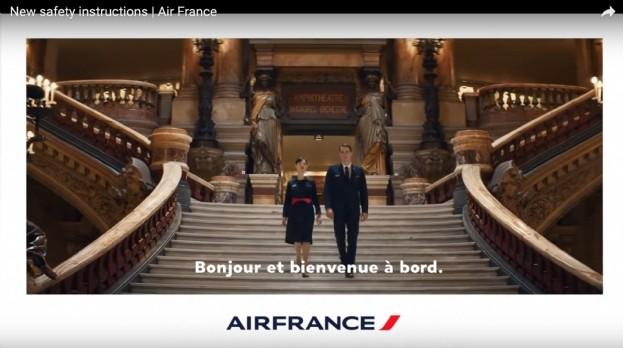 Air France dévoile son nouveau film client