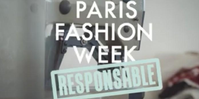 Une Fashion Week pour une mode responsable