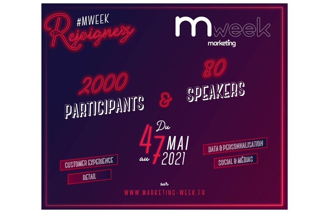 4 au 7 mai 2021 : on se retrouve à la Marketing Week !