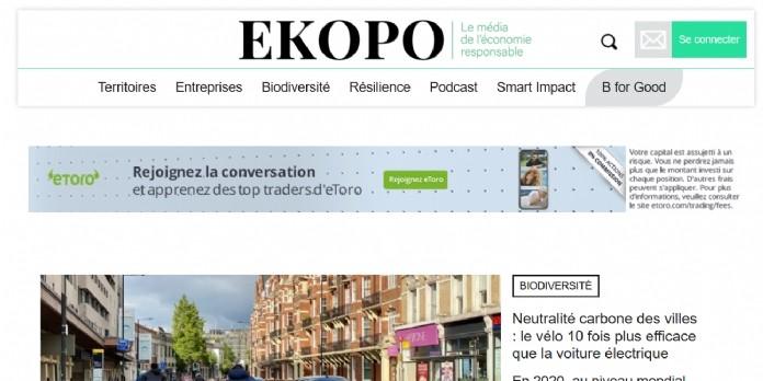 Ekopo se transforme et devient une entreprise à mission