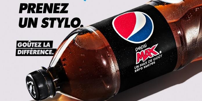 Pepsi Max marque sa différence pour taquiner son concurrent