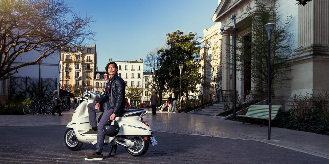 Django, le scooter néo-rétro s'affiche encore plus écolo