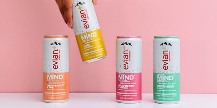 Evian lance une nouvelle offre d'eau aromatisée