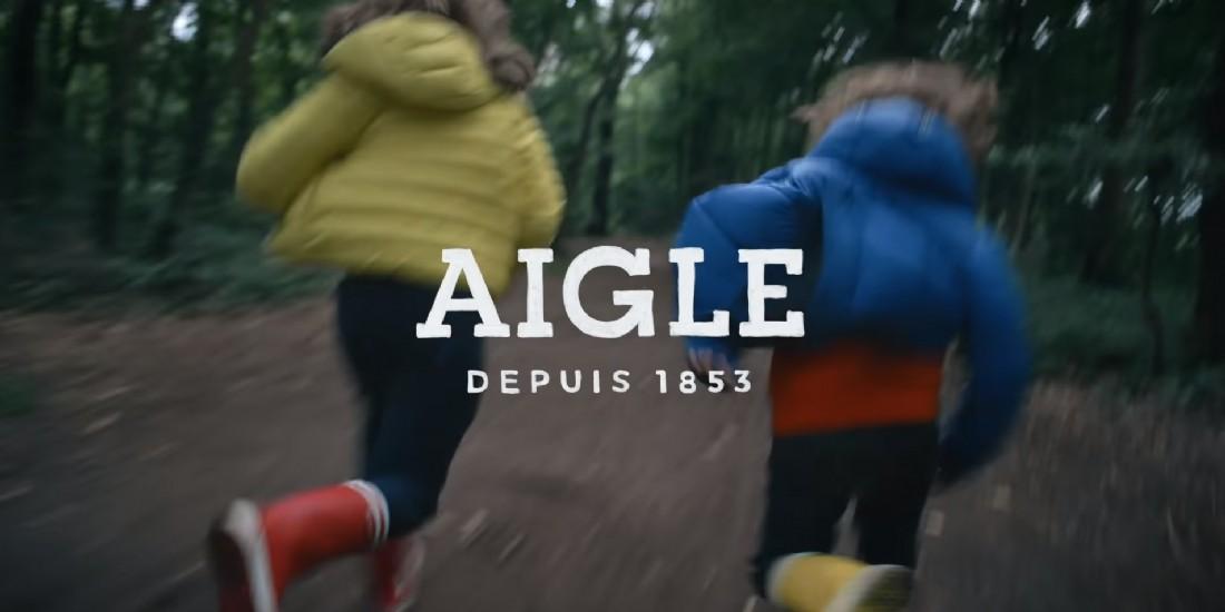 Pour promouvoir sa collection enfant, AIGLE rend hommage à la nature