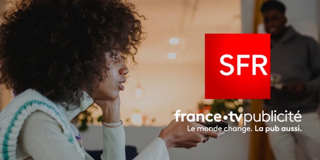 FranceTV Publicité et SFR partenaires sur la publicité segmentée en TV linéaire
