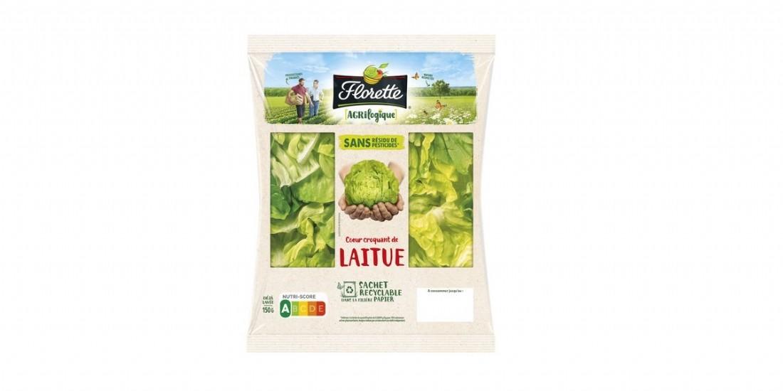 Florette lance le sachet de salade recyclable