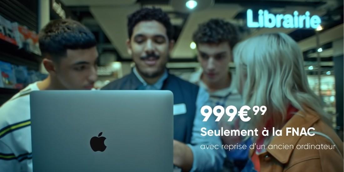 Pub : La Fnac se veut infatigable avec Apple