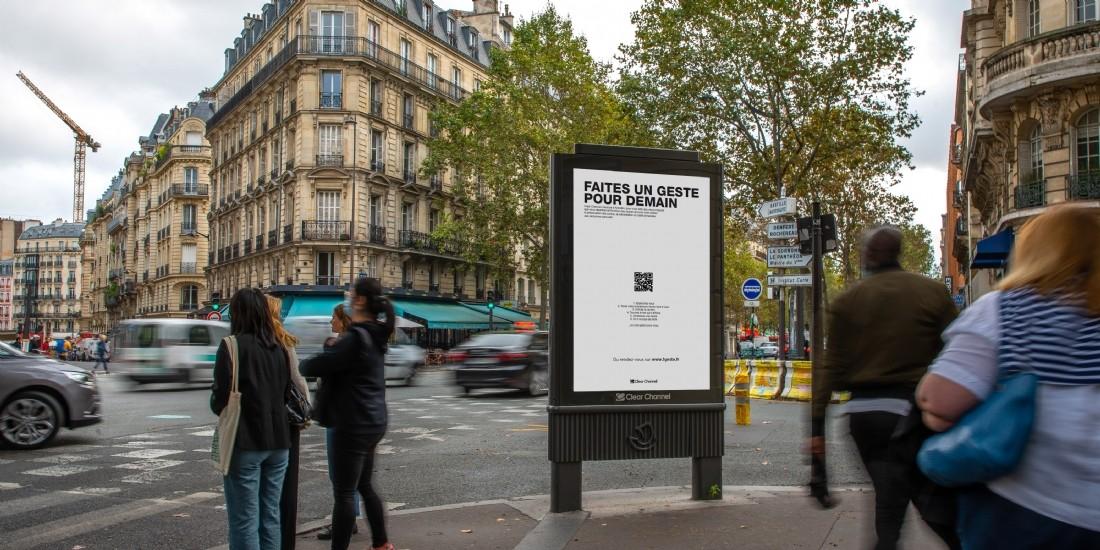 Clear Channel France lance sa première campagne à impact