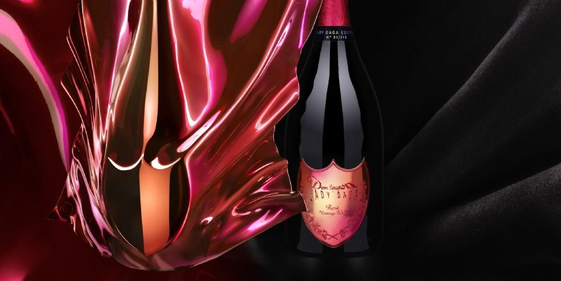 Dom Pérignon s'offre Lady Gaga en flacon et en NFT