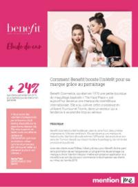 Couverture Découvrez les clés du succès d'un programme de parrainage avec Benefit cosmetics