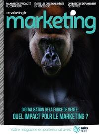 Couverture [Hors-série Marketing] Digitalisation de la force de vente : quel impact pour le marketing ?