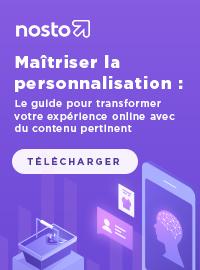 Couverture Maîtriser la personnalisation : Le guide pour transformer votre expérience online avec du contenu pertinent