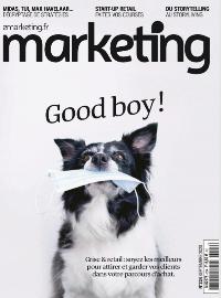 Couverture version numérique du Magazine Marketing