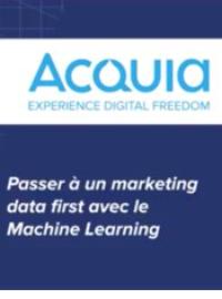 Couverture Passer à un marketing data first avec le machine learning