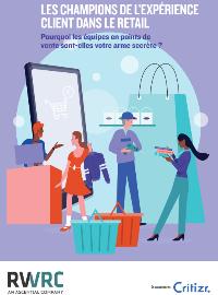 Couverture Les champions de l'expérience client dans le retail