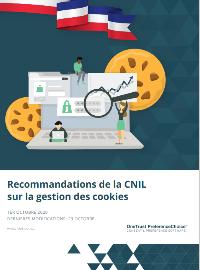 Couverture Recommandations de la CNIL sur la gestion des cookies