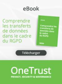 Couverture Comprendre les transferts de données dans le cadre du RGPD