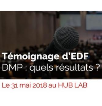 [Petit-déjeuner 31/05] Témoignage d'EDF sur sa DMP au Hub Lab