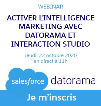 Activer l'intelligence marketing avec Datorama et Interaction Studio