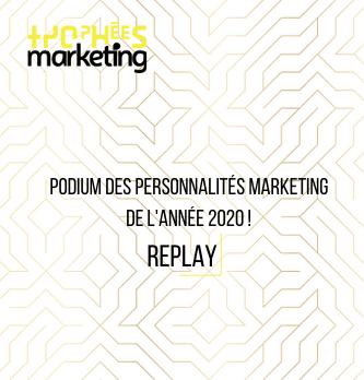 Découvrez le podium de personnalités Marketing de l'année 2020 !