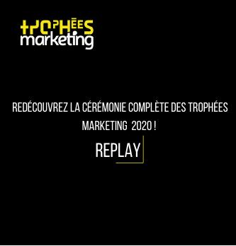 Revivez la cérémonie des Trophées marketing 2020 !