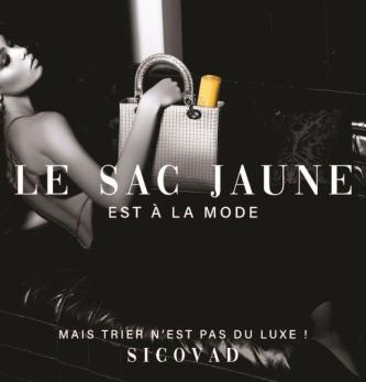 Sicovad recourt aux codes du luxe pour ses imprimés publicitaires