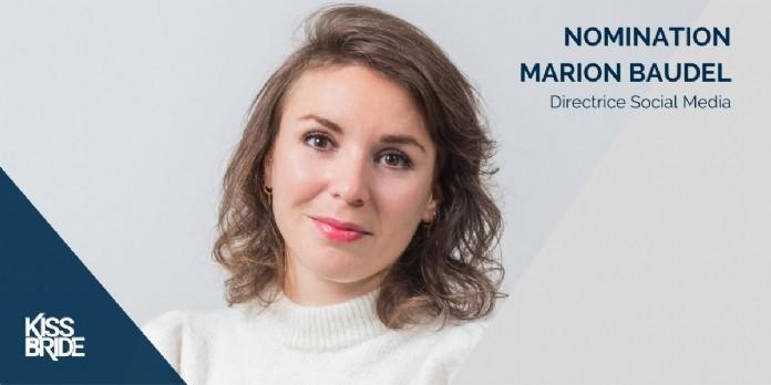 Marion Baudel est nommée directrice social media chez Kiss the Bride