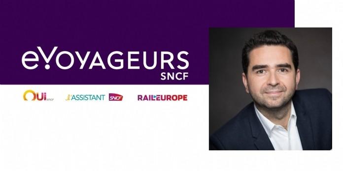 David Nedzela nommé directeur marketing d'e.Voyageurs SNCF